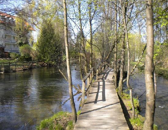 "Memmingen, Germany: municipal park ""Neue Welt"""