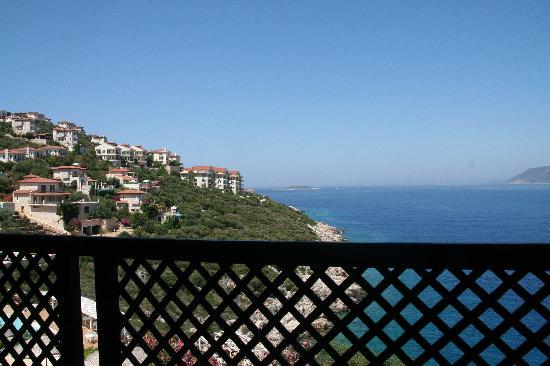 Arpia Hotel: Blick vom Balkon