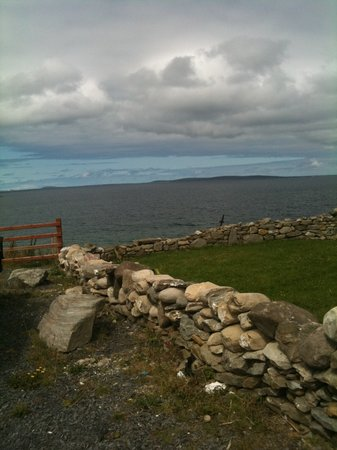 Achill Island, Ireland: View from resturant up the road