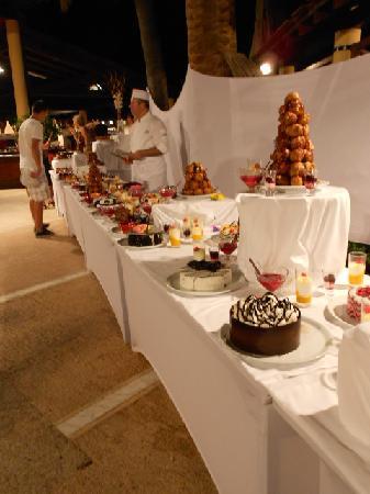 Club Med Palmiye: Un somptueux buffet de dessert