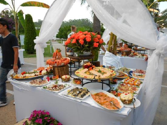 Club Med Palmiye: Un somptueux buffet de fruits de mer