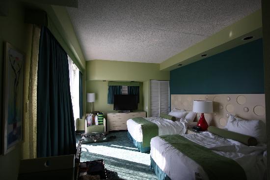 Coconut Waikiki Hotel : 内装