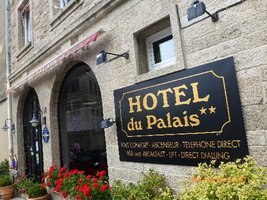 Hôtel du Palais : debanture hotel