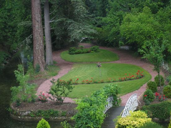 Le Moulin de Francueil : Jardin