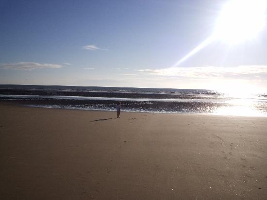 هابي ريترن هوتل: blackpool beach