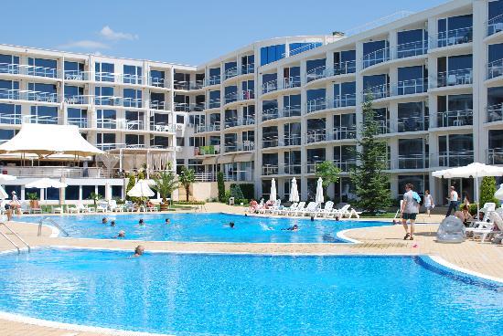 Sarafovo, Bulgaria: Pool area
