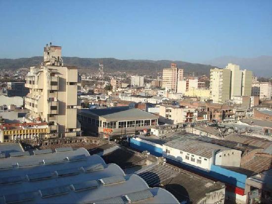 Howard Johnson Plaza Jujuy: vista desde la habitacion