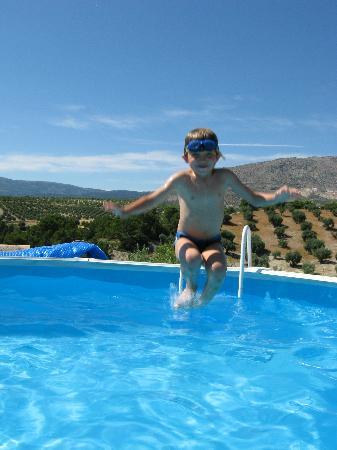 El Geco Verde: jumping in