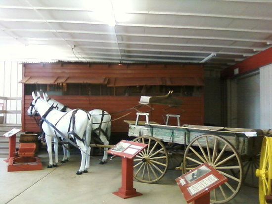 Fort Walla Walla Museum: Chuck Wagon restored