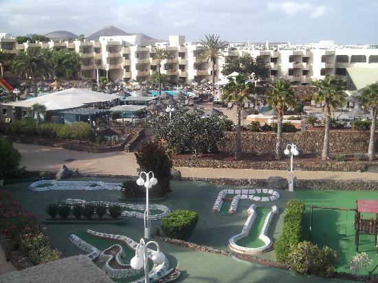 Occidental Lanzarote Mar: View from our room in block 2