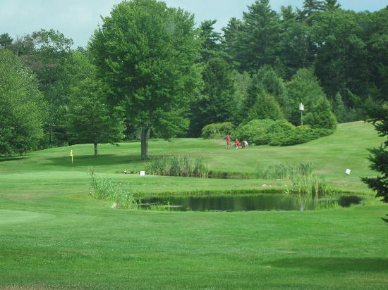 Merriland Farms Golf Course : View of a water hazard