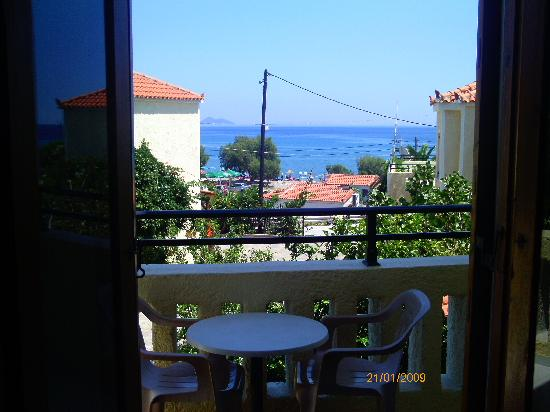 Agrilionas Beach Apartments: view from our apartment