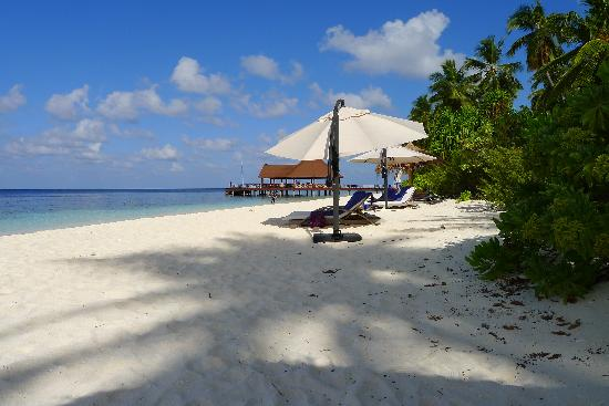 Robinson Club Maldives: beach