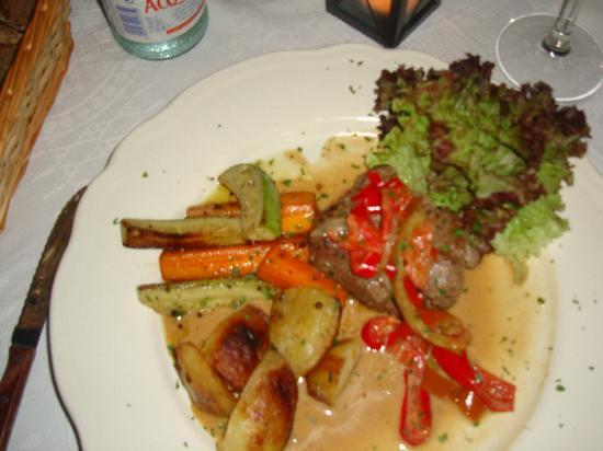 Cantonet: Steak in pepper sauce