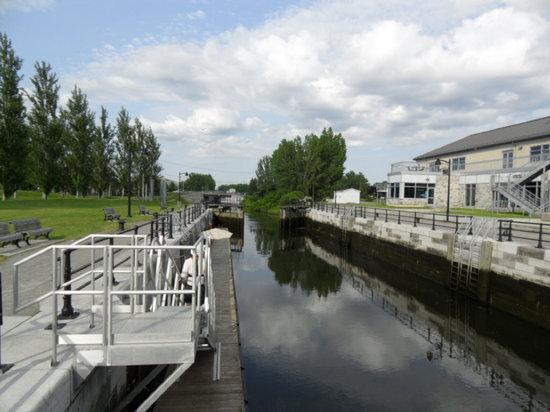 Lieu Historique National du Canal-de-Lachine : Ecluse de Lachine
