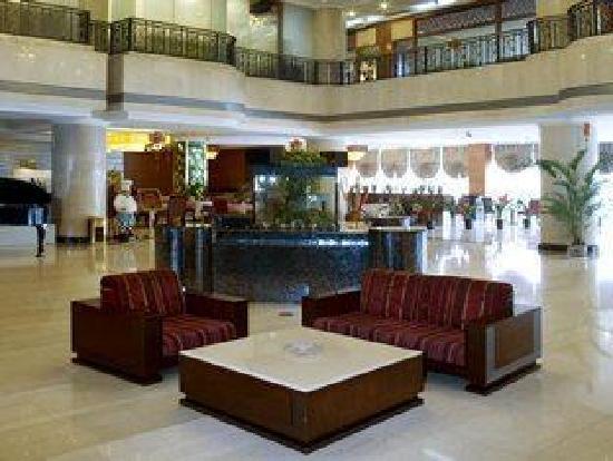 Jintai Hotel : le hall d'accueil