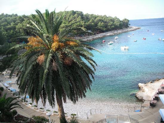Villa Kredo: La baia quando il tempo è bello!!