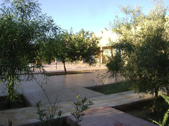 Palais des dunes: Hotel Courtyard