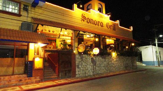 Sonora Grill in the evening