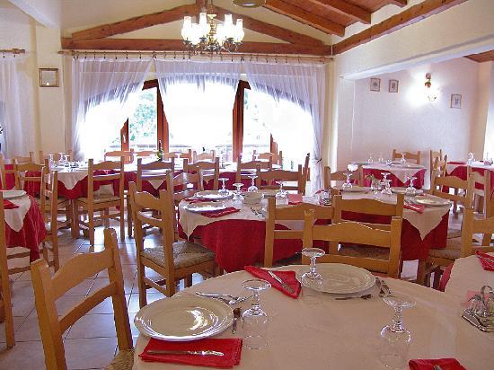 Hotel Vecchia America: La sala da pranzo...