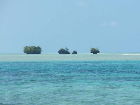 Maratua Atoll, Indonesien: islotes cercanos