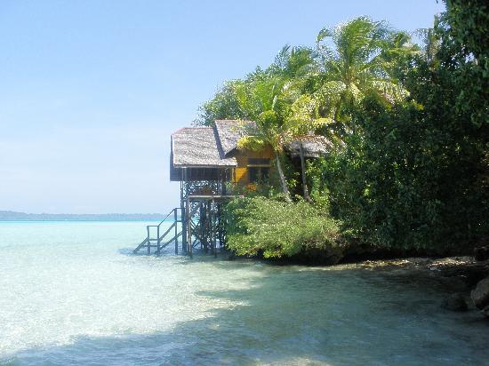 Maratua Atoll, Indonesien: Habitación