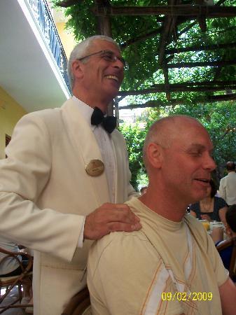 Grand Hotel De La Ville Sorrento: Even a massage from Enzo