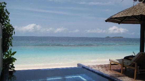Centara Grand Island Resort & Spa Maldives: View From Our Beach Villa