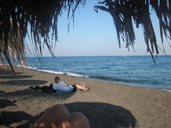Ammos Restaurant: Perivolos Beach