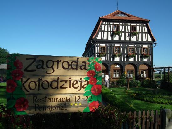 Zgorzelec, Polonia: Budynek - wejście