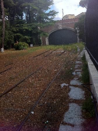 Le Suite di Via Ottaviano : vatican railway!
