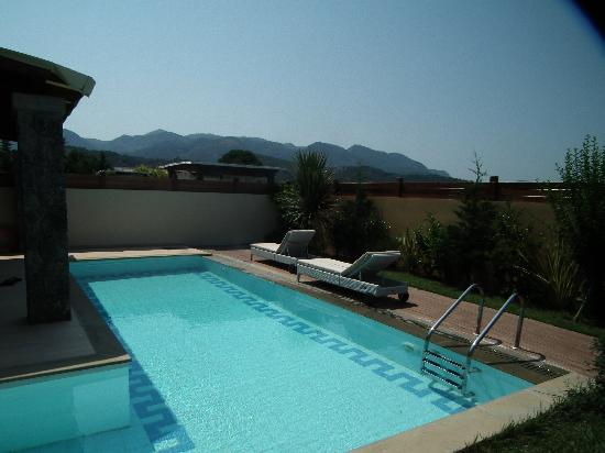 Restia Suites Exclusive Resort : Private pool with a view !