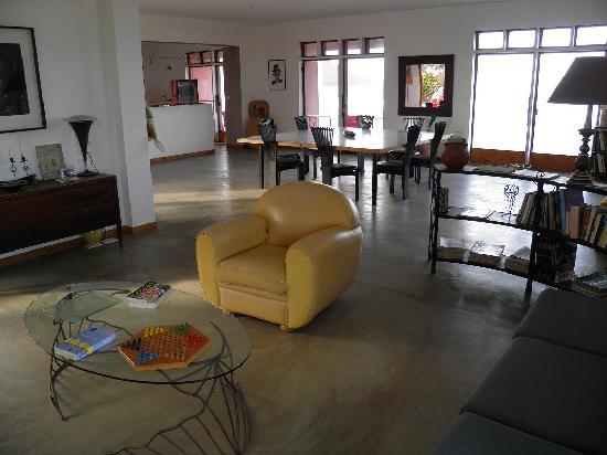 Residencial Goa : Le salon commun