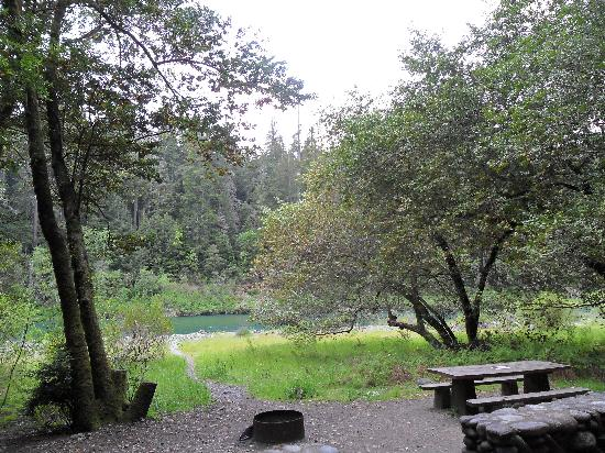 Jedediah Smith Redwoods State Park : site #57