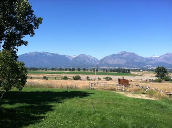 Corvallis, MT: view from porch