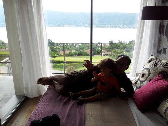 Le Clos du Lac Guest House: chambre RIVA