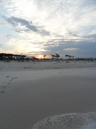 St. Joseph Peninsula State Park: sunrise