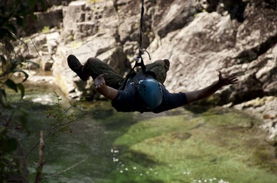 WestCoast Wild Adventures: over the river with no hands