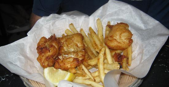 Montana Brewing Company: fish and chips