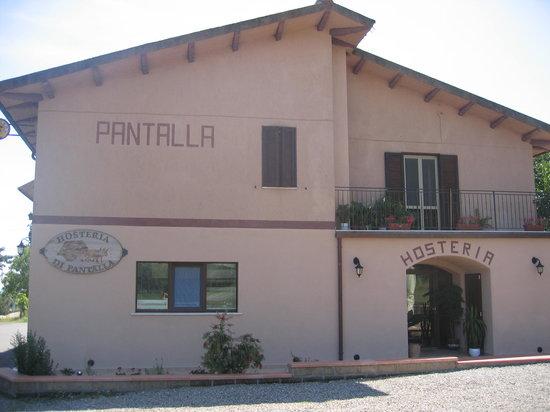 Pitigliano, Italy: Il fronte dell'hosteria