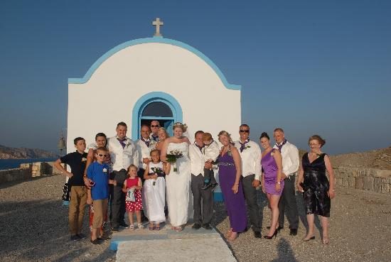 Yiannis The Beekeeper Apartments : our wedding day