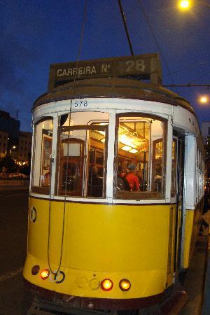 Tram 28: Tram28 Endstation