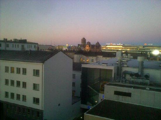 Original Sokos Hotel Royal Vaasa: From the higher floors one can see Vaasa - and an other hotel!
