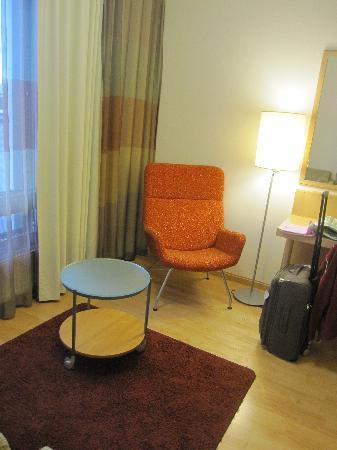 Scandic Oulu: angolo salotto