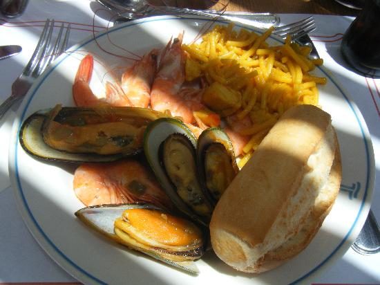 Hotel Grand Teguise Playa: Yummy Lunch