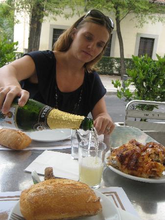 Casa Mingo: Our meal.