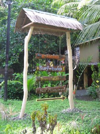 Mi Casa Hostel El Tesoro : Sign