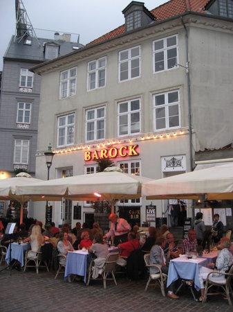 Barock, an evening in august