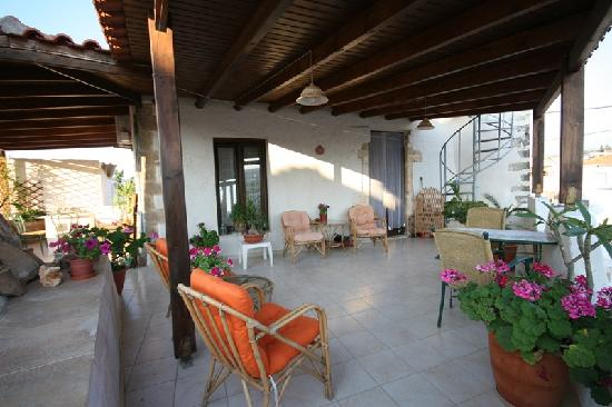 Venetian Guest's House: A pretty terrace for guests