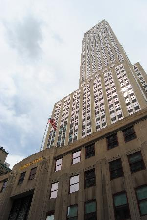 Empire State Building: the building from below